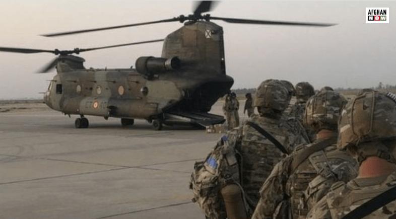امریکا يی ځواکونه د افغانستان وتل پیل شوي