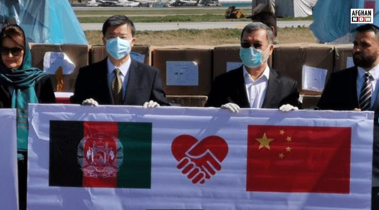 عربي اماراتو او چین افغانستان سره د طبی وسایلو مرسته وکړه