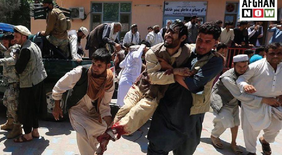 افغان ولس:دسولېراتګ وخته پورې به جګړې نيمايې افغان ولس له منځه ویسي